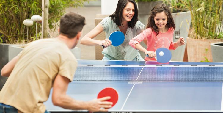 Stolní tenis - zábava pro celou rodinu