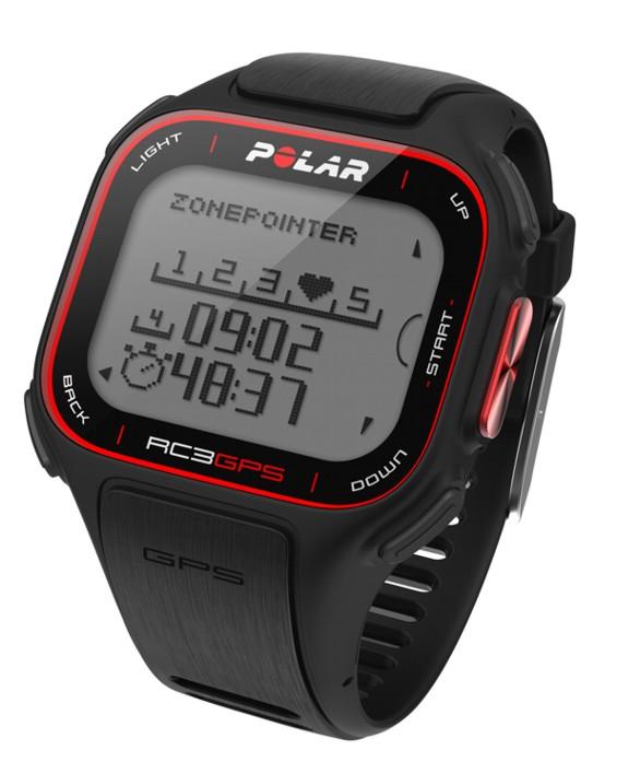 Hodinky POLAR RC3 GPS černé