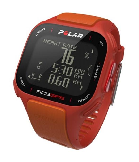 Hodinky POLAR RC3 GPS oranžové