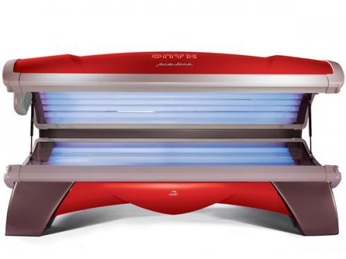 Solárium HAPRO Proline 28/1 C Lounge Red + zajištění servisu u Vás doma ZDARMA