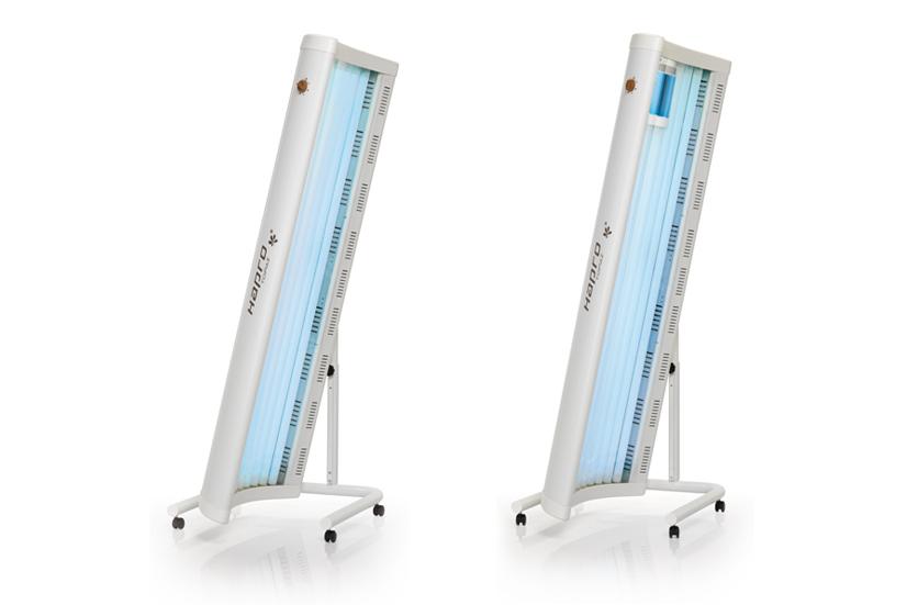 Jednostranné domácí solárium HAPRO TOPAZ 10 V