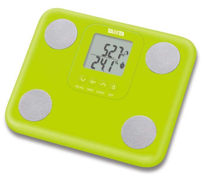 Osobní váha s měřením tuku TANITA BC-730 zelená