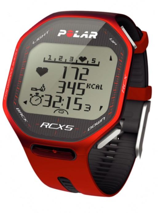 Hodinky POLAR RCX5 + datalink červený