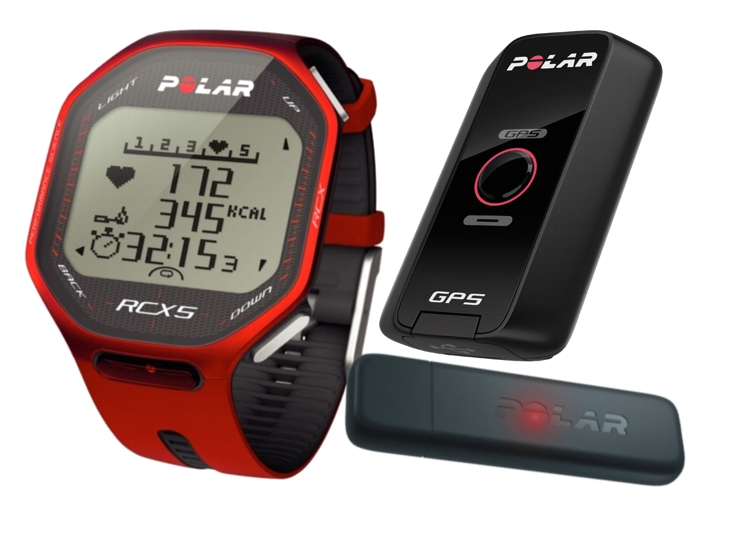 Hodinky POLAR RCX5 G5 + datalink červený