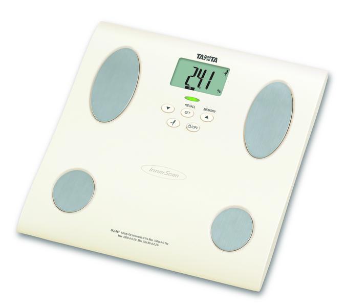 Osobní váha s měřením tuku TANITA BC-581