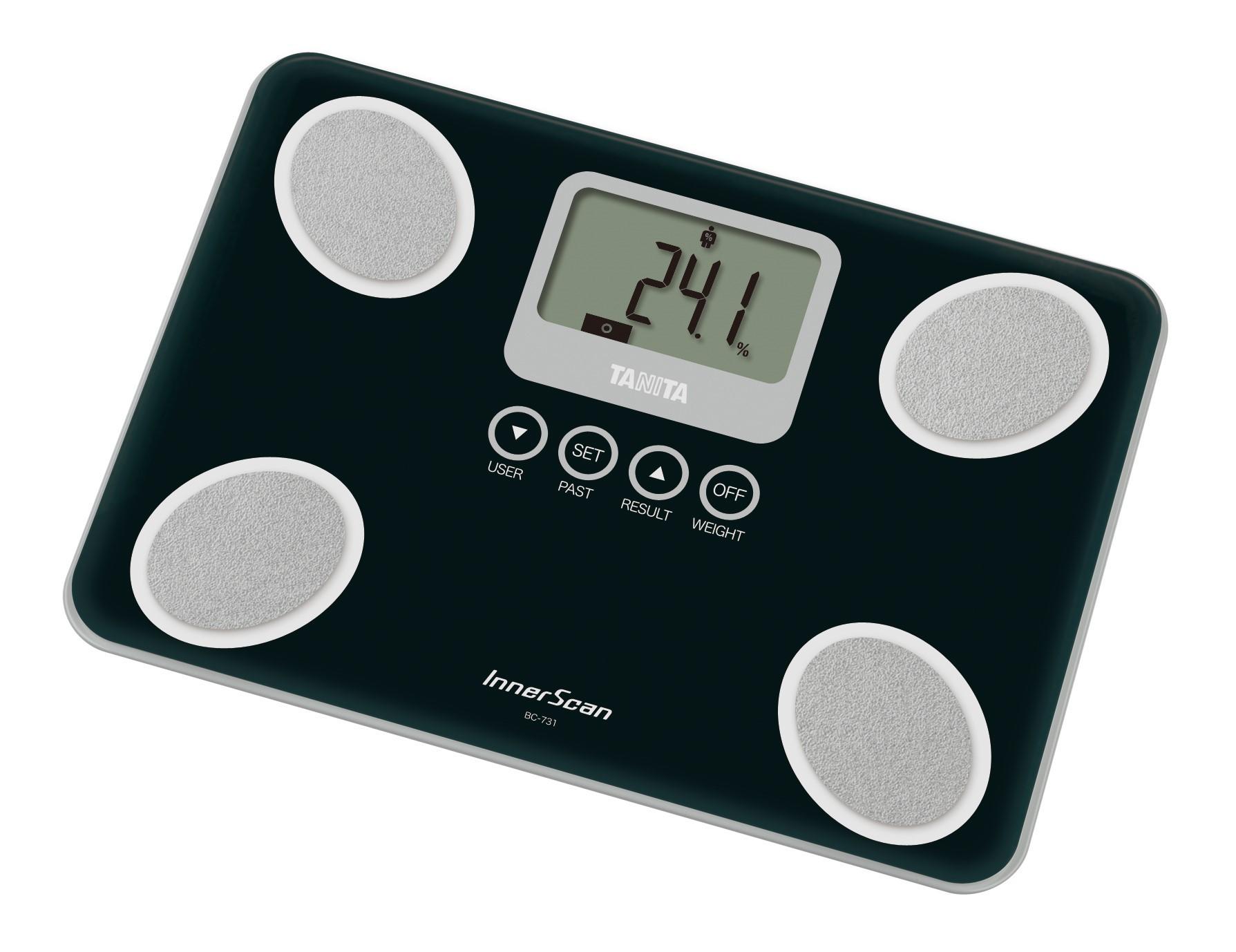 Osobní váha s měřením tuku TANITA BC-731 černá