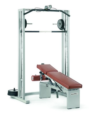 Posilovací stojany TECHNOGYM Multipla set 55 kg + montáž ZDARMA