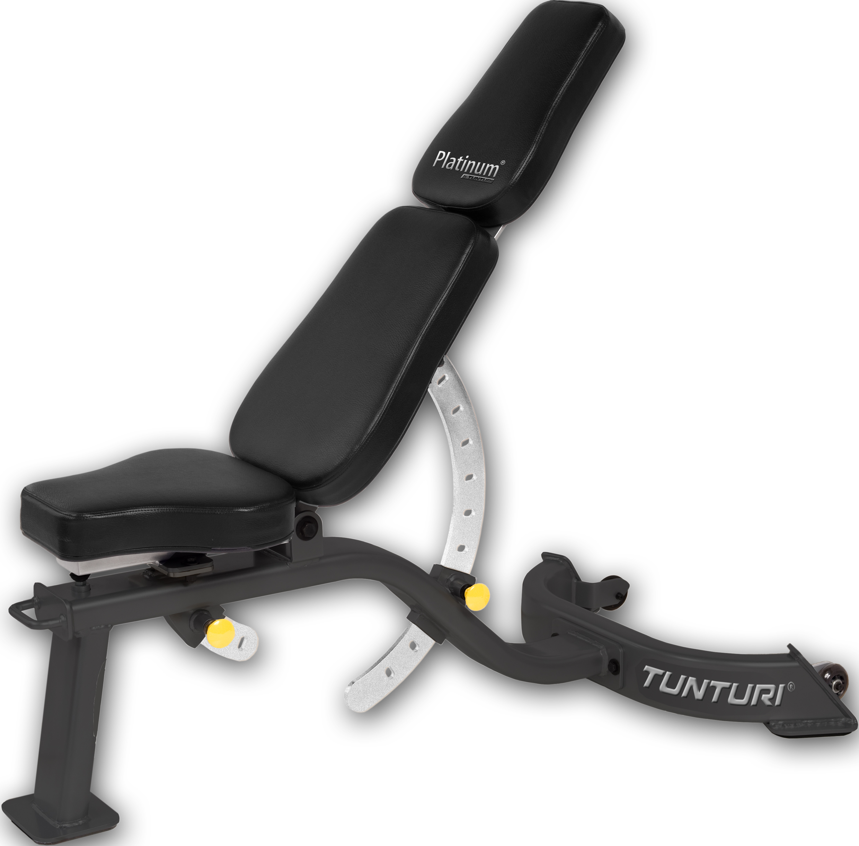 TUNTURI PLATINUM - polohovací lavice + zajištění servisu u Vás doma ZDARMA