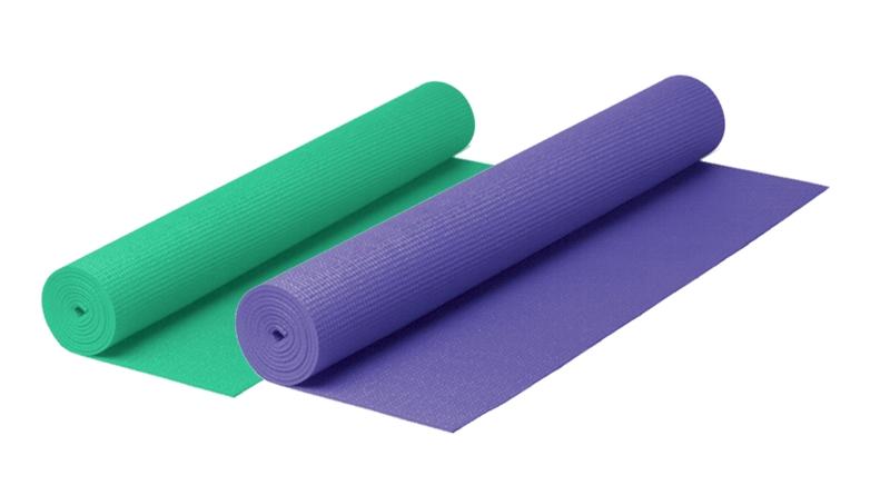 Jóga podložka 4mm fialová