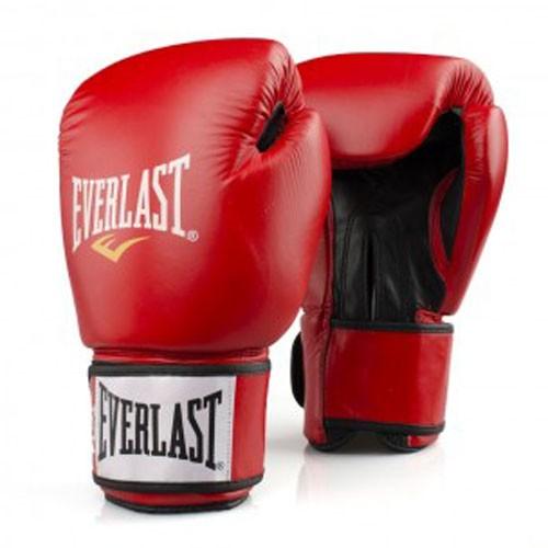 EVERLAST boxerské rukavice FIGHTER 10 OZ červené