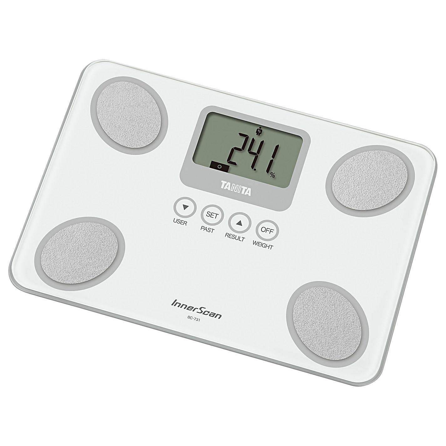 Osobní váha s měřením tuku TANITA BC-731 bílá