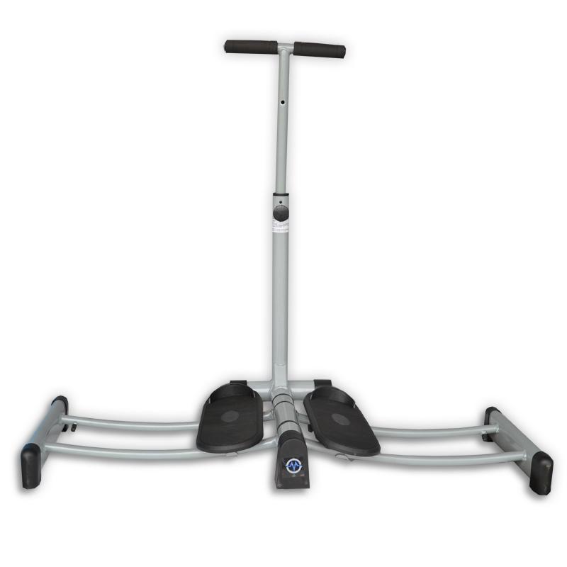 Posilovací stroj na nohy Leg Trainer MASTER - stříbrný