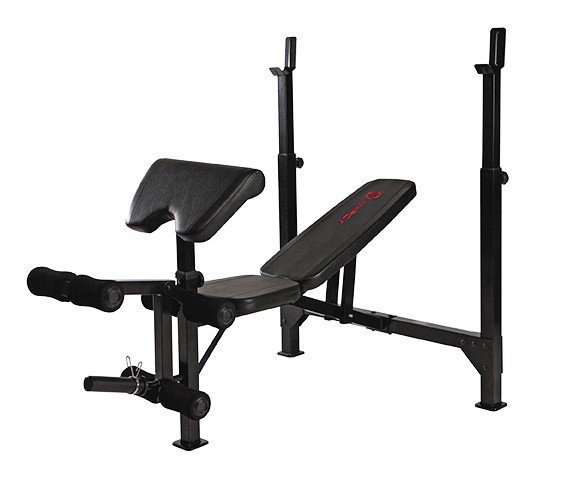 Bench lavice se stojany MARCY Olympic Width Barbell Bench BE5000