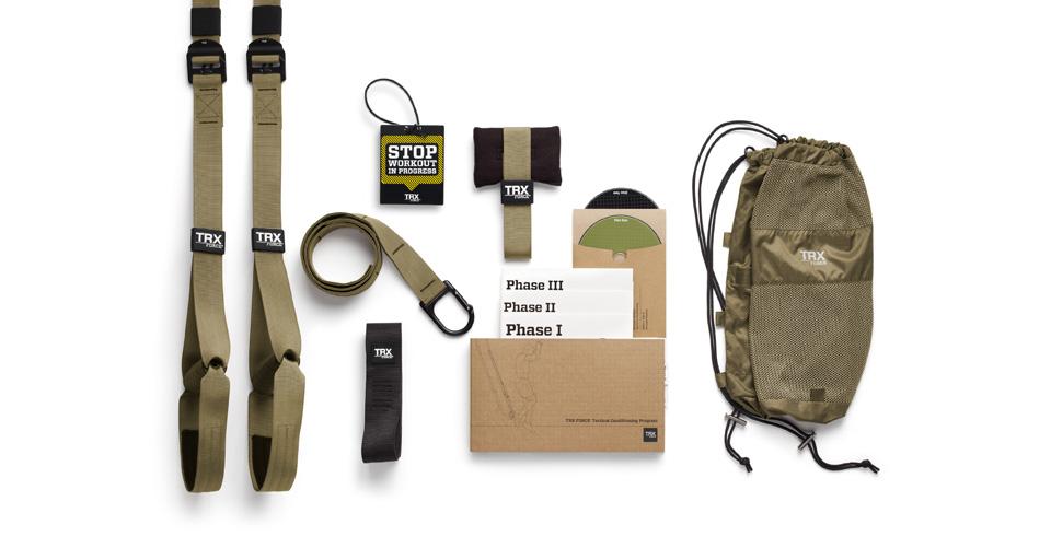 Posilovací závěsný systém TRX® Tactical Gym (Army style ORIGINÁL)