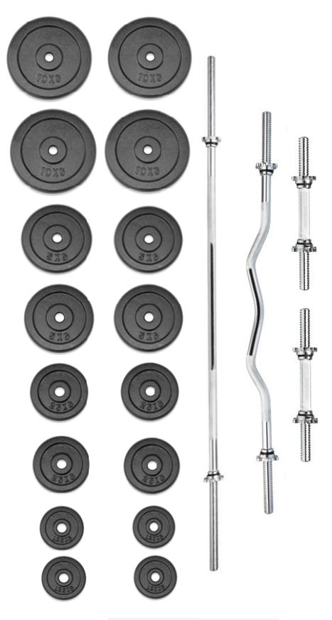 Činkový set PREMIUM 100 kg
