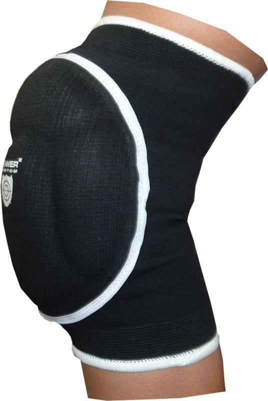 Elastické chrániče kolen POWER černé M