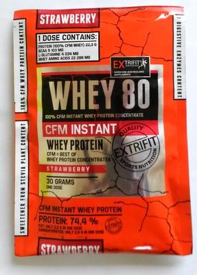 EXTRIFIT CFM Instant Whey 80 - vzorek (30 g) bílý jogurt