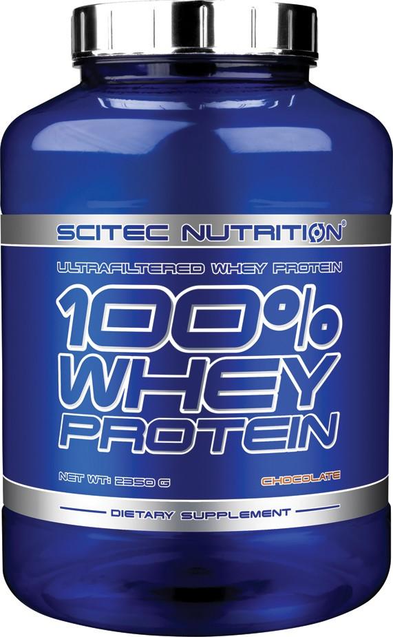 SCITEC 100% Whey Protein 2350 g vanilka