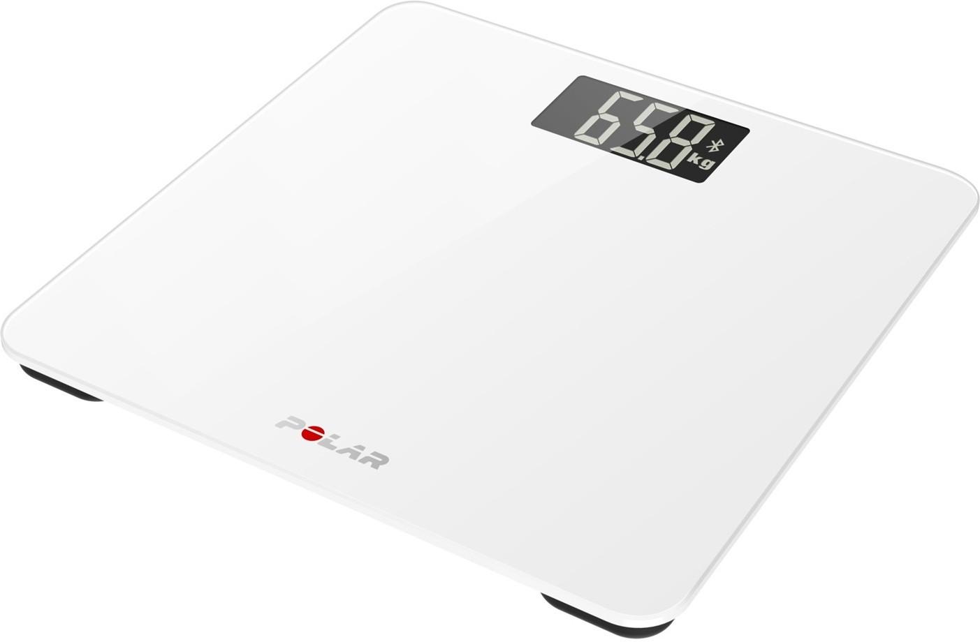 Osobní váha s měřením tuku POLAR BALANCE bílá