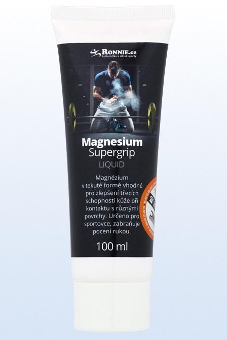 Magnesium Supergrip Liquid 100 ml tekuté