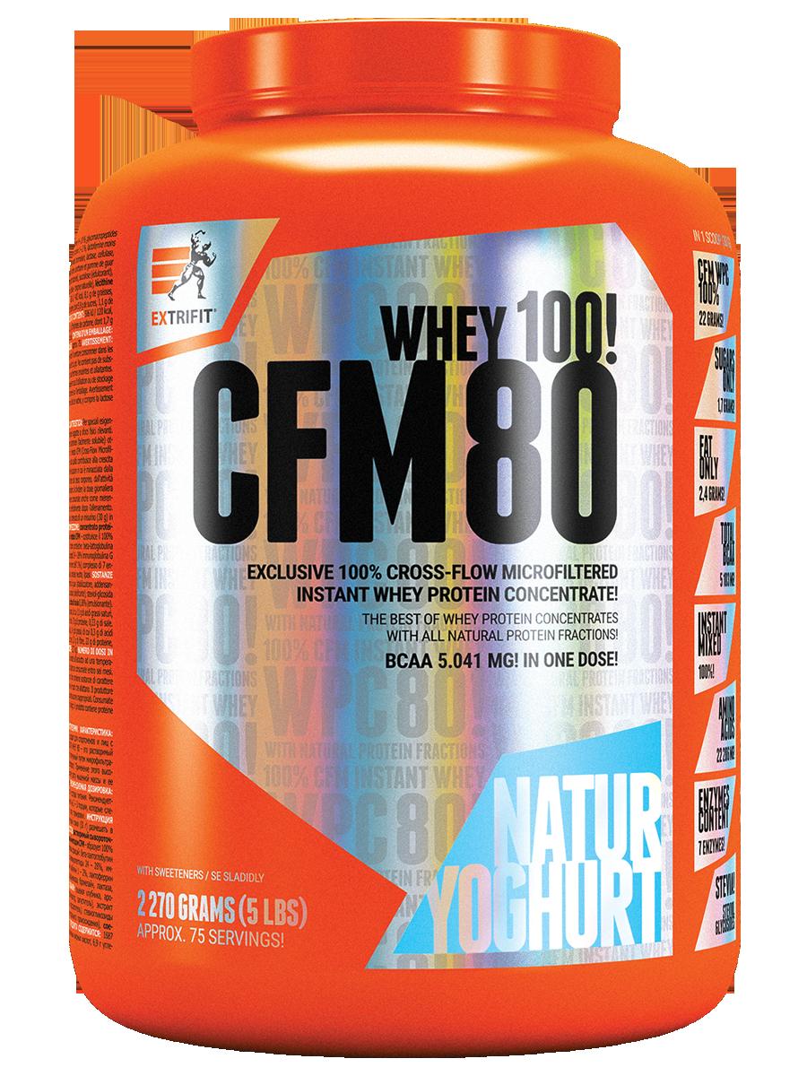 EXTRIFIT CFM Instant Whey 80/ 2,27 kg bílý jogurt