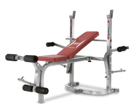 Bench lavice se stojany BH FITNESS OPTIMA FLEX