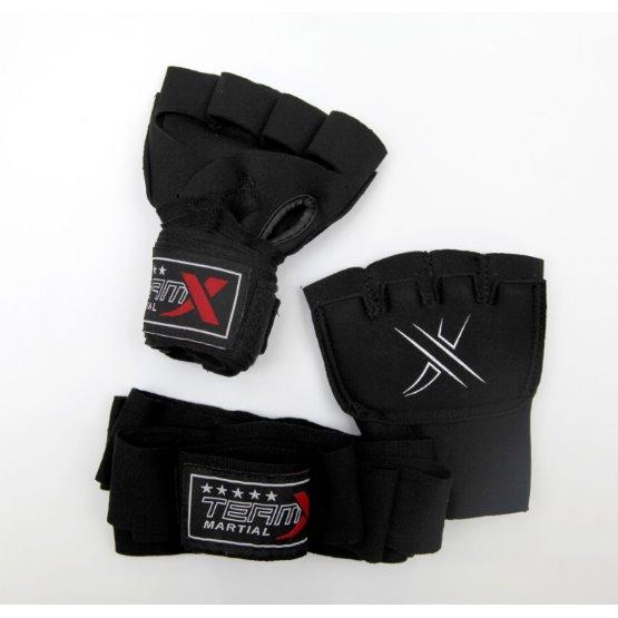 Rukavice prstové GEL s bandáží L/XL