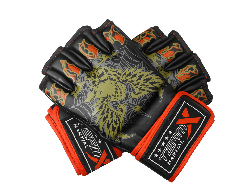 TEAM-X MMA Rukavice EAGLE M