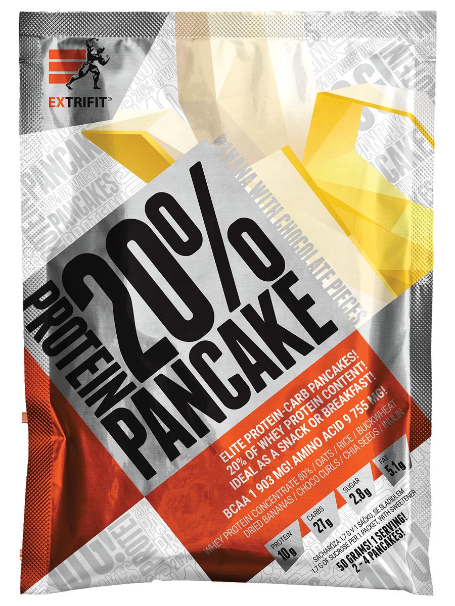 EXTRIFIT Protein Pancake 20% 50 g jablko skořice