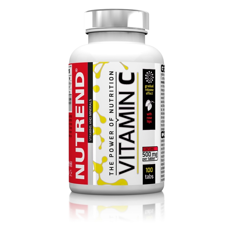 NUTREND Vitamin C se šípky 100 tablet