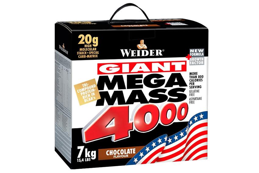 WEIDER Mega Mass 4000 7 kg jahoda