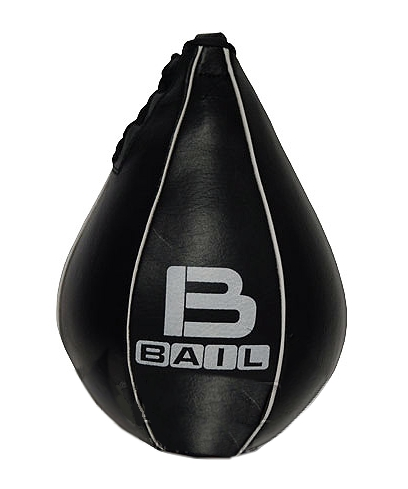 BAIL boxerská hruška 23 cm kůže černá