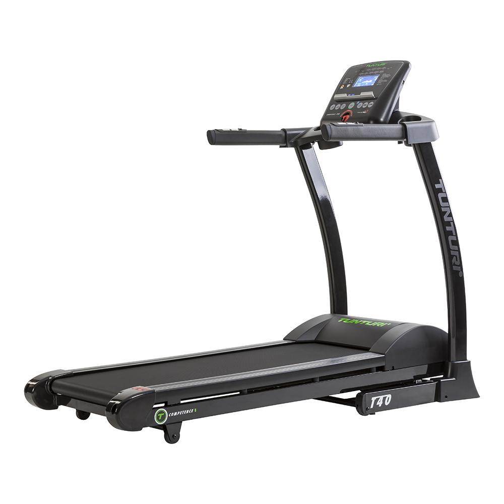 Běžecký pás TUNTURI T40 Treadmill Competence + montáž a zajištění servisu u Vás doma ZDARMA