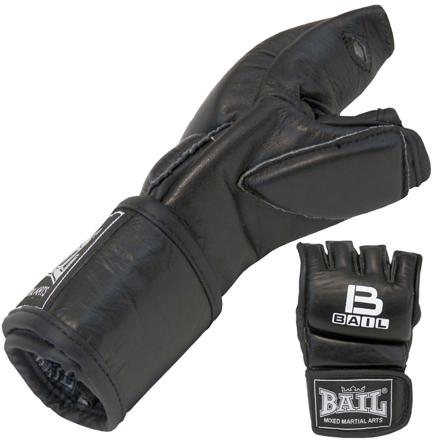 BAIL rukavice MMA BLACK M