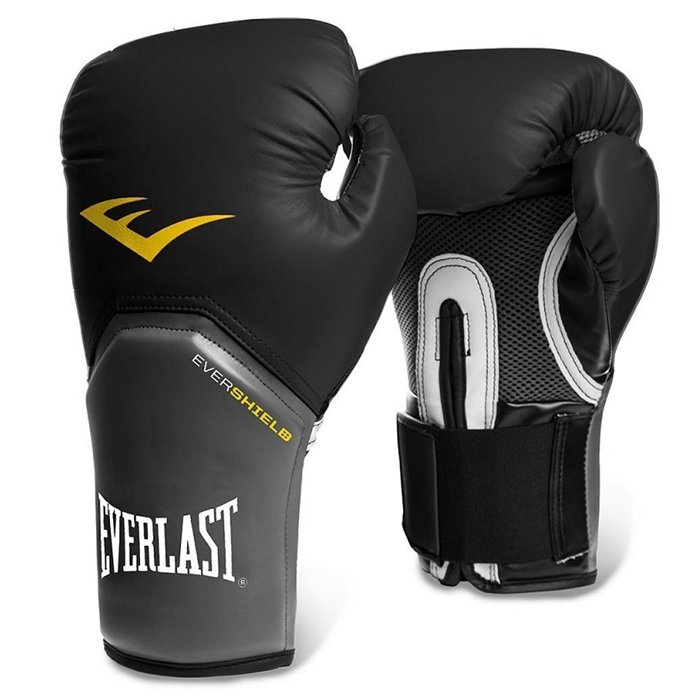 EVERLAST 16 oz boxerské rukavice PRO STYLE ELITE černé