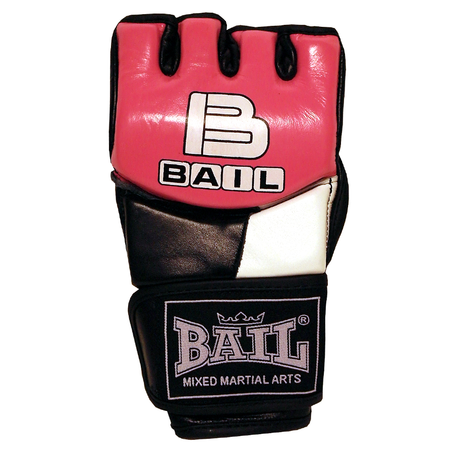 BAIL rukavice MMA PINK M
