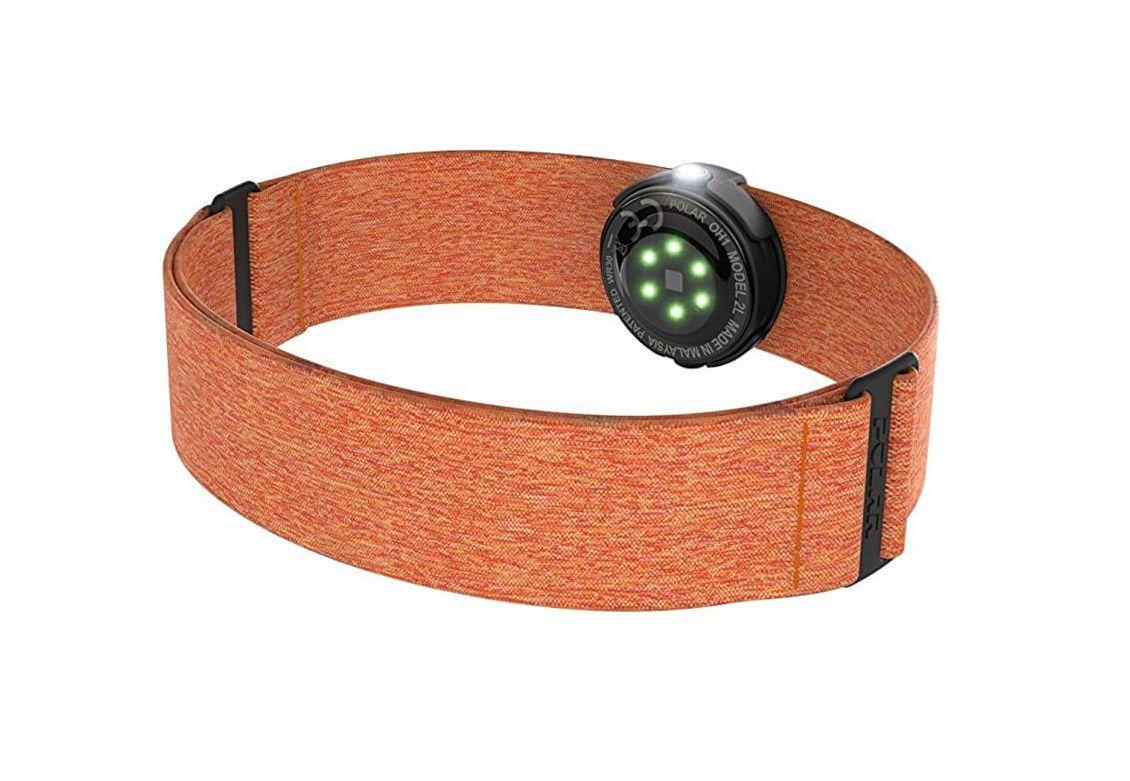 Hrudní pás POLAR OH1 oranžový