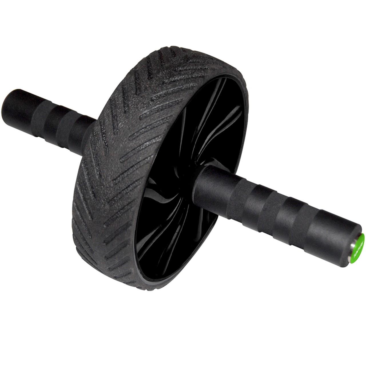 Posilovací kolečko na břicho Ab Wheel TUNTURI černé