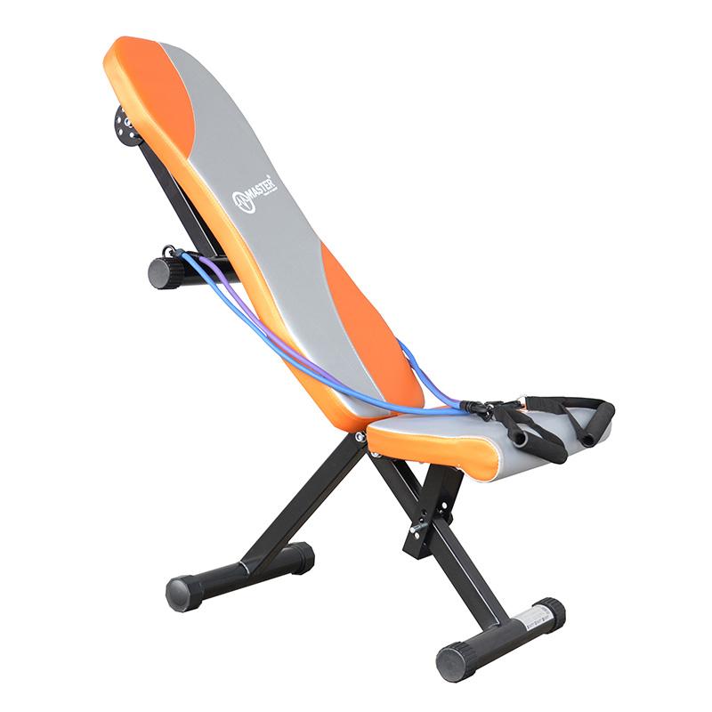 Posilovací lavice na jednoručky MASTER multifunkční s gumou