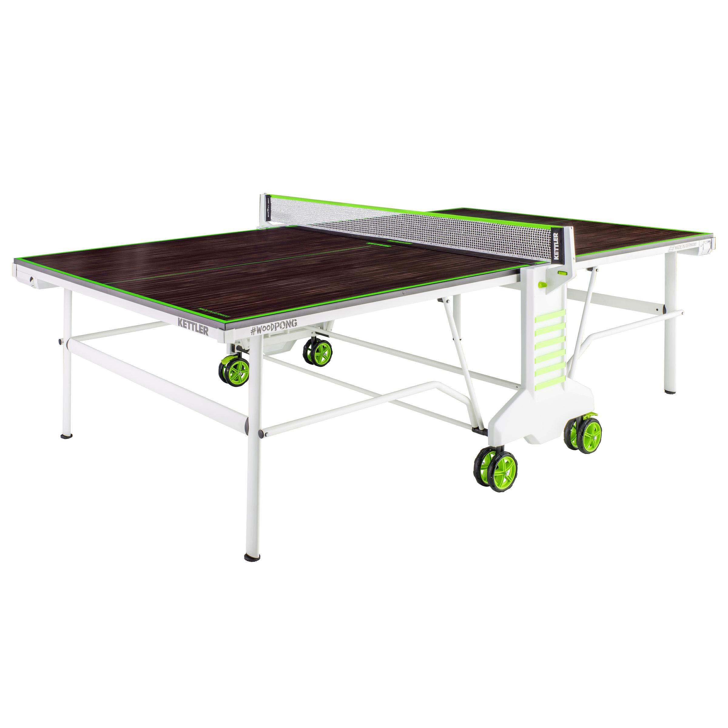Pingpongový stůl venkovní KETTLER WOOD PONG + zajištění servisu u Vás doma a rozšířená záruka 60 měsíců ZDARMA