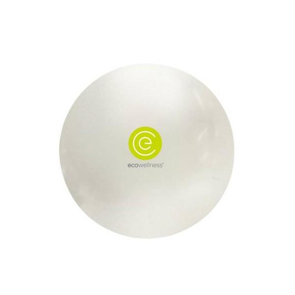 Gymnastický míč Ecowellness 75 cm zelený