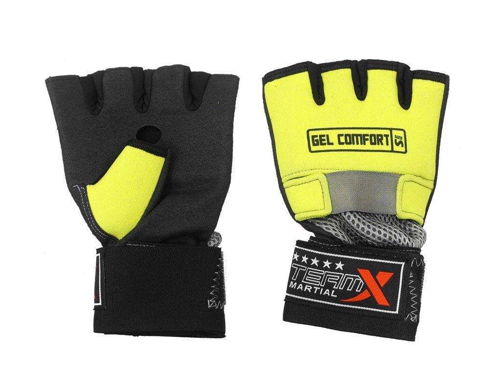 Gelové rukavice GEL COMFORT / L žluté