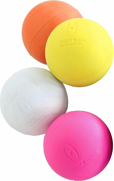 Masážní lakrosový míček růžový BEARFOOT