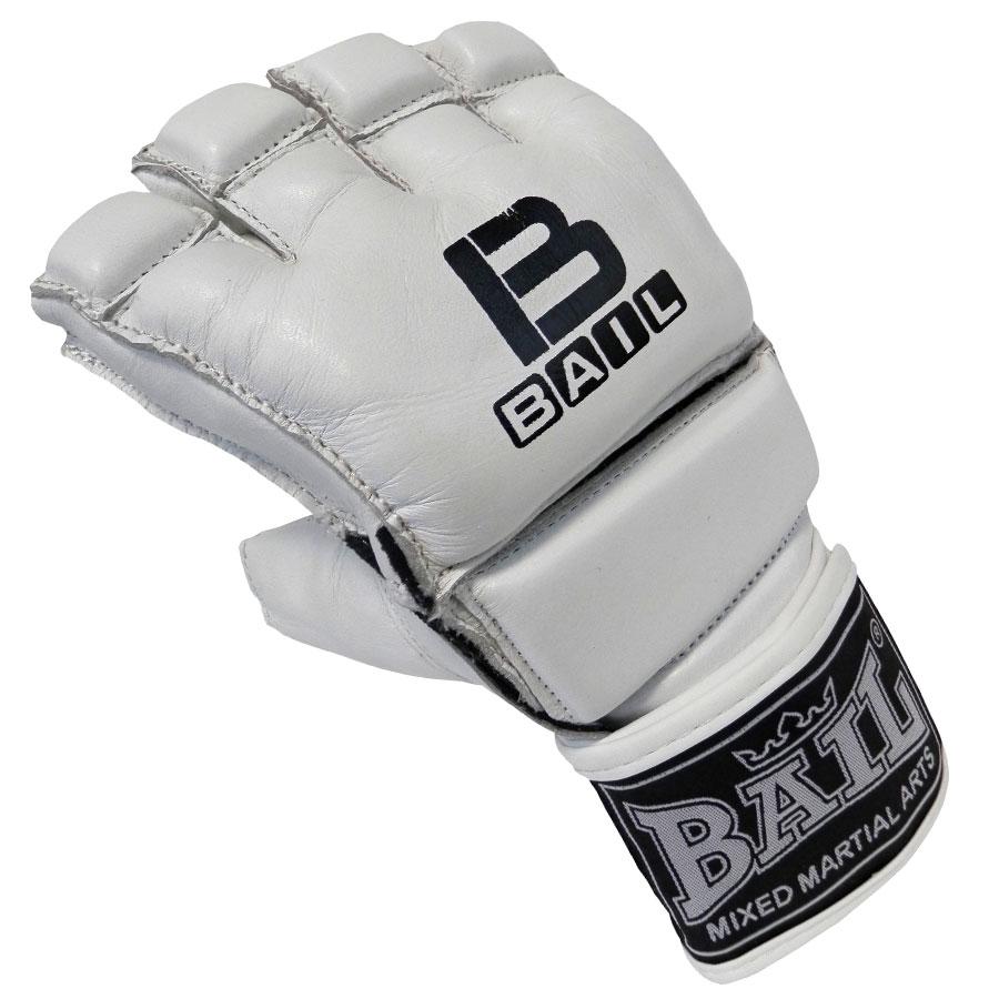 BAIL rukavice MMA WHITE XL