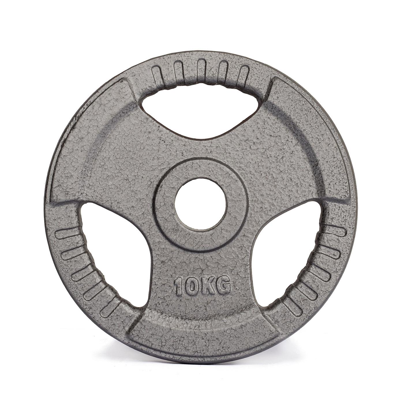 Kotouč olympijský TRINFIT litina 10 kg / 50 mm