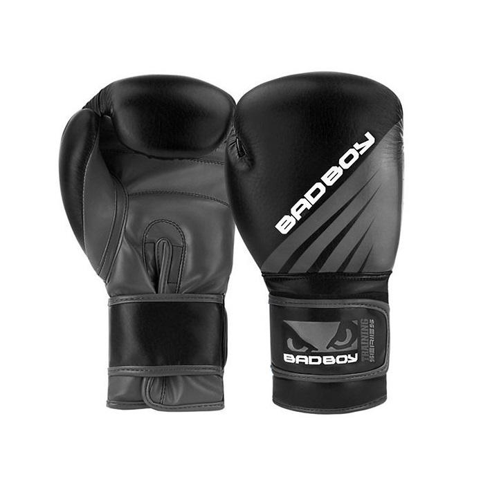 BAD BOY boxerské rukavice TRAINING SERIES IMPACT 16 oz černo-šedé 5536f0225d