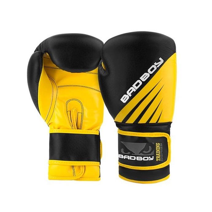 6c789b69c91 BAD BOY boxerské rukavice TRAINING SERIES IMPACT 16 oz černo-žluté