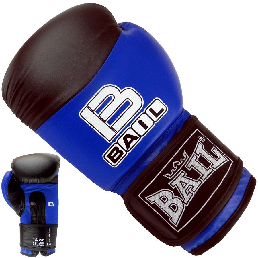 Boxerské rukavice SPARRING PRO 14 oz červeno-černé
