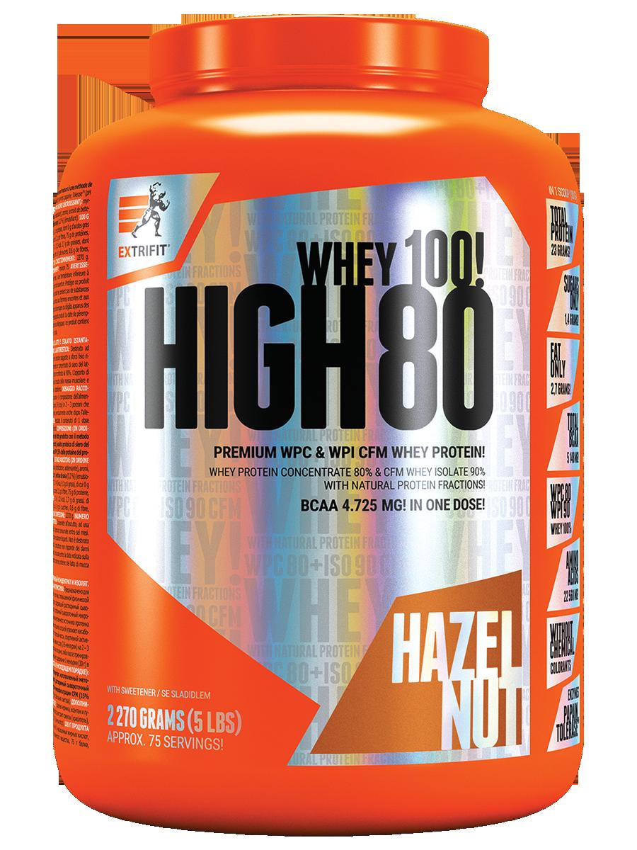 EXTRIFIT HIGH WHEY 80 - 1000 g vanilka