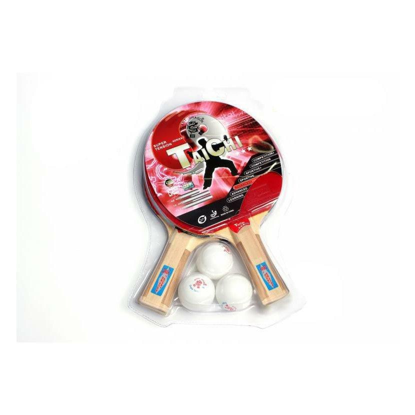 Set pálek a míčků GIANT DRAGON Taichi
